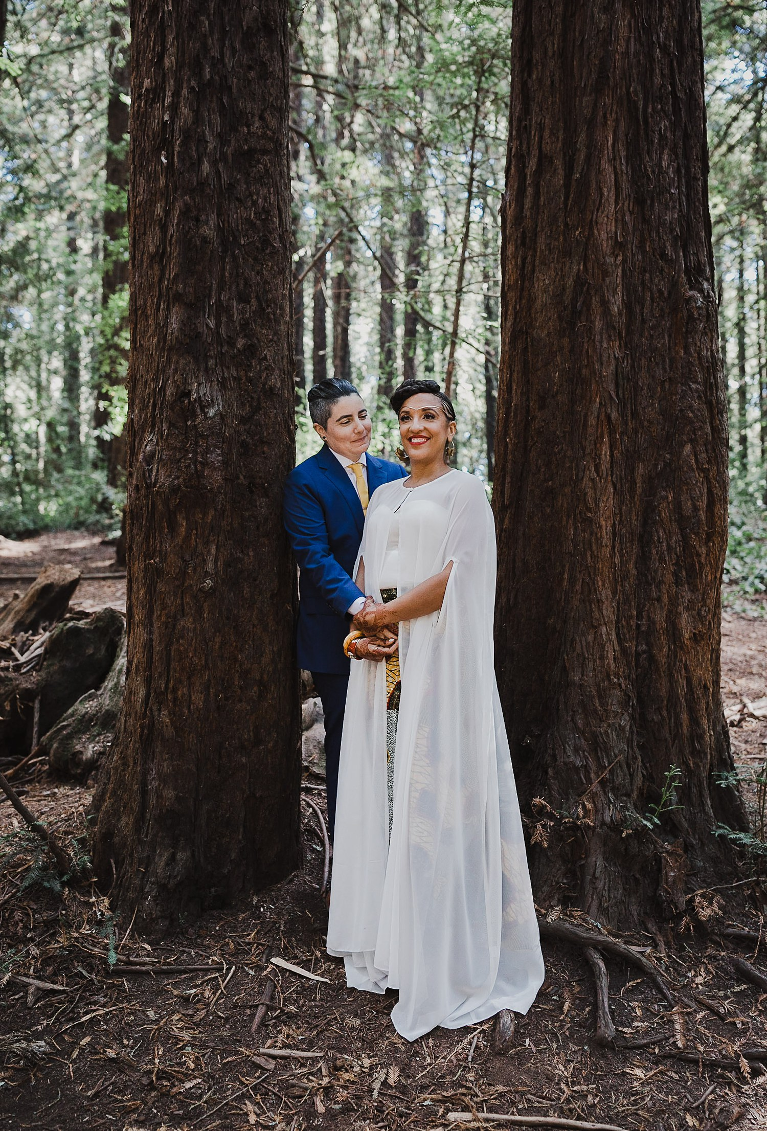 Oakland wedding photography story in Joaquin Miller Park.